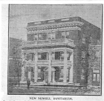 Newell Sanitarium completed in 1911