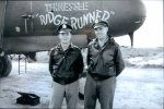 John Anderson (left) and the late Jim Mogan